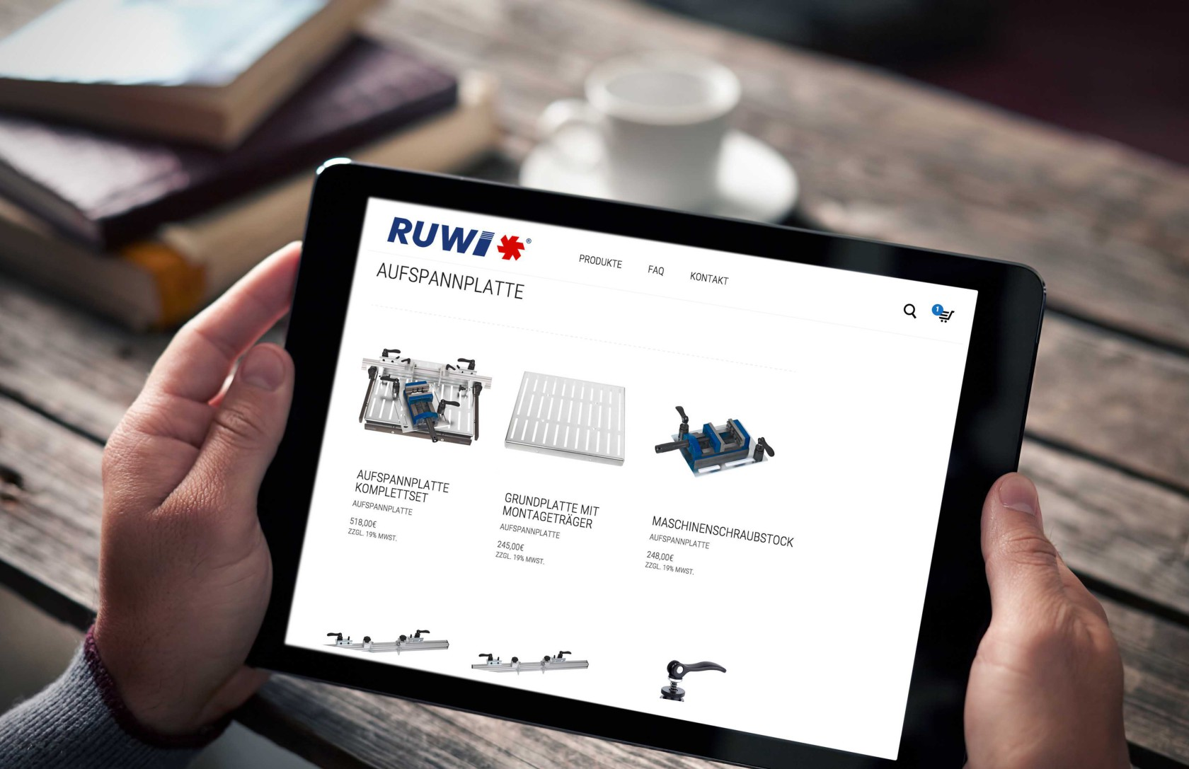 Dürfen wir vorstellen? Der RUWI Online Shop!