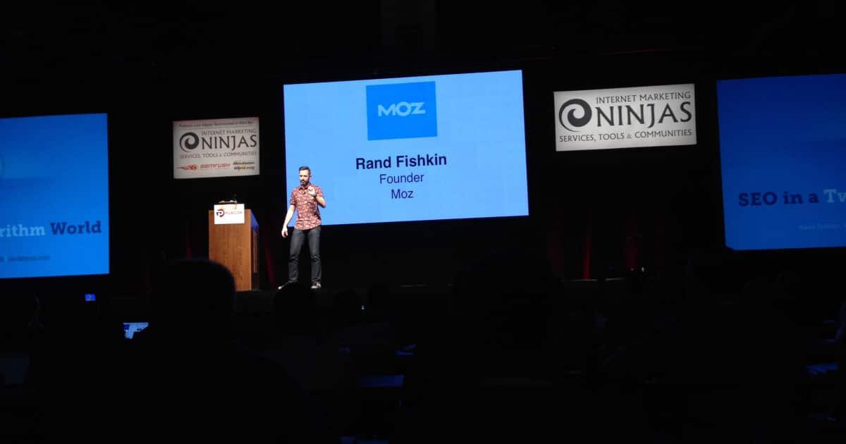 Rand Fishkin auf der Pubcon 2015 in Las Vegas